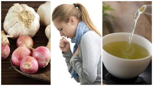 Combattez la toux grâce à cette boisson naturelle à base d'oignon et d'ail