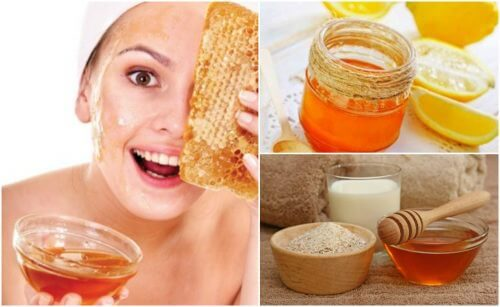 le miel pour les soins du visage