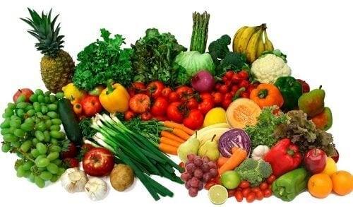 Les fruits et légumes sont riches en vitamines