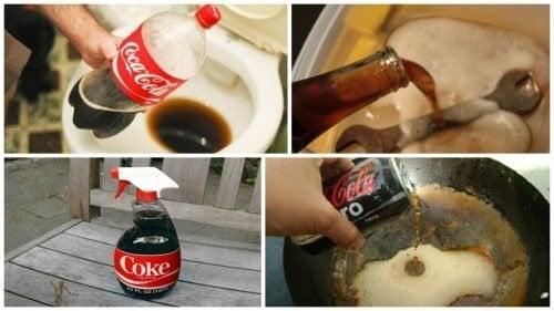 8 usages domestiques du Coca-Cola à connaître !