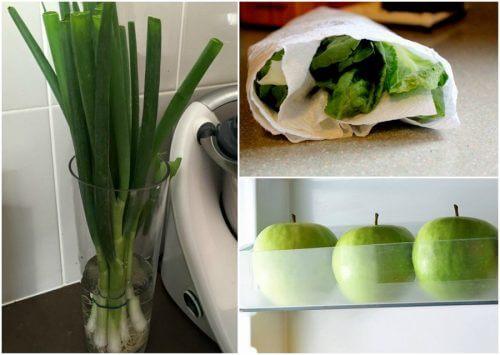 9 astuces qui vous aideront à garder vos aliments frais plus longtemps