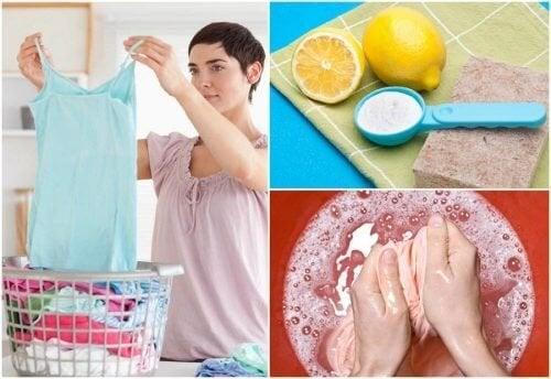 Pas de détachant sous la main ? Voici 9 manières étonnantes d'éliminer les taches des vêtements