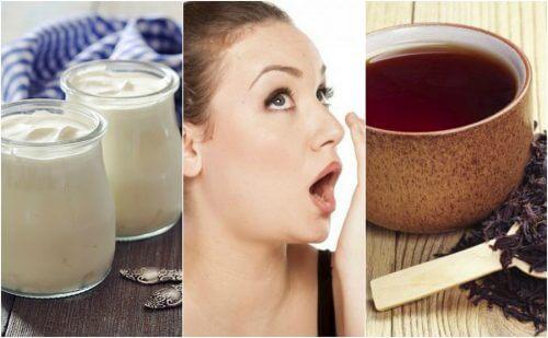 7 remèdes naturels pour combattre la mauvaise haleine