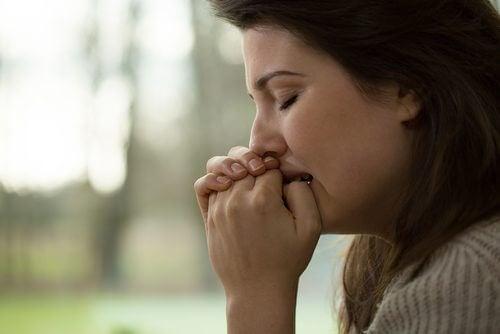 Symptômes de l'anxiété.
