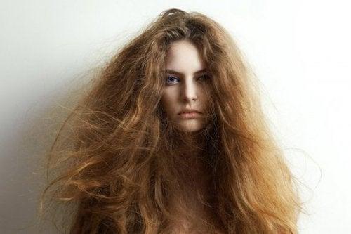 5 ingrédients naturels pour traiter les cheveux secs
