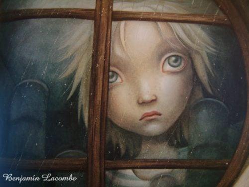 illustration d'un enfant blessé
