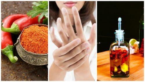 Comment préparer une huile médicinale au piment de Cayenne pour soulager les douleurs dans les articulations ?
