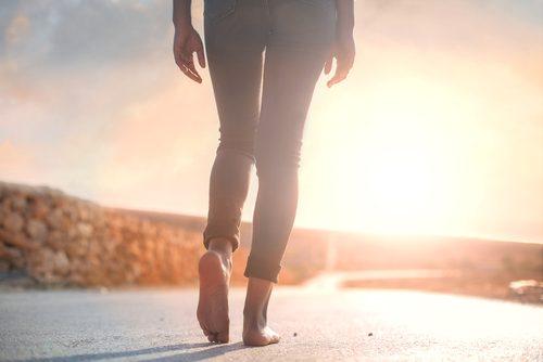 Marcher contre l'anxiété.