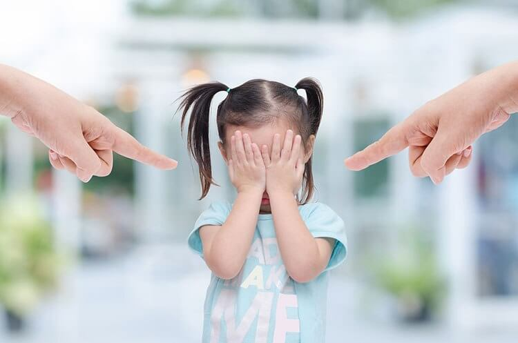 Les enfants souffrent des conséquences de vos frustrations