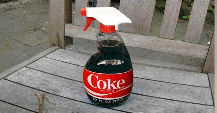 Du coca-cola en pesticide.