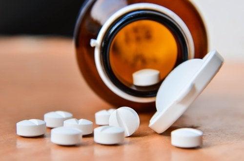 L'aspirine contre les cors.