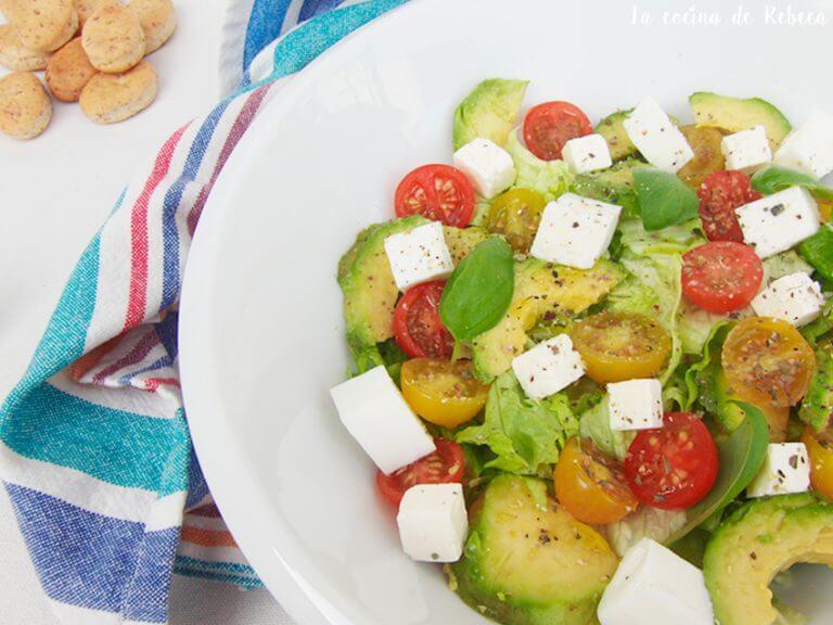 Salade pour dégonfler le ventre.
