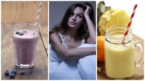 5 smoothies contre les bouffées de chaleur nocturnes