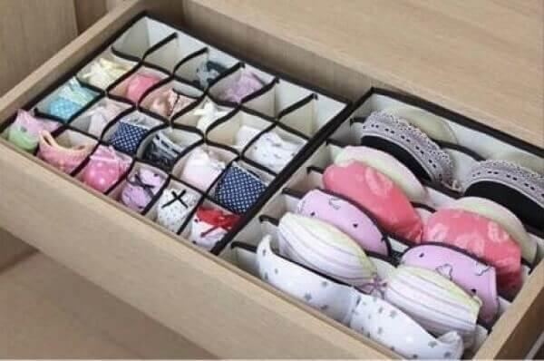 Des boîtes pour vos vêtements.