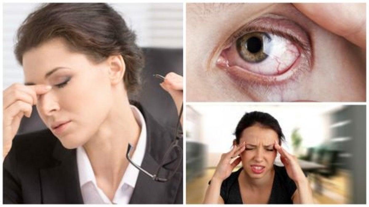 Identifier 8 symptômes du stress visuel — Améliore ta Santé
