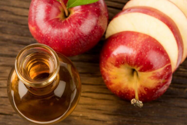 au vinaigre de pomme