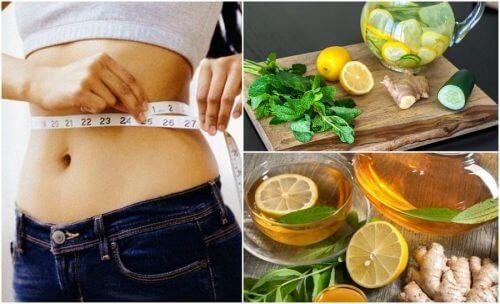 Combattez l'inflammation et perdez du poids grâce au gingembre et au citron