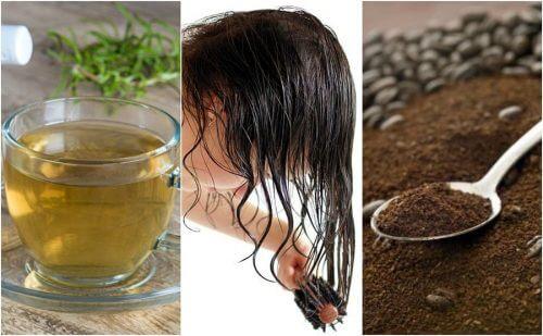 5 remèdes naturels pour traiter l'apparition prématurée des cheveux blancs