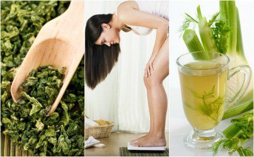 Perdez du poids facilement en utilisant ces 5 plantes médicinales