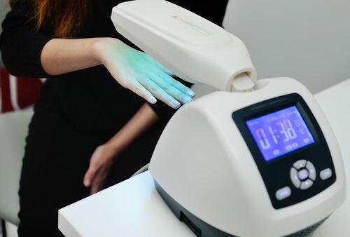 Traitement du psoriasis par photothérapie