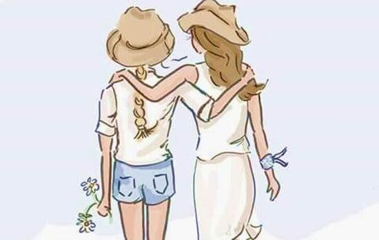 amitié entre femmes, grande fournisseuse d'ocytocine