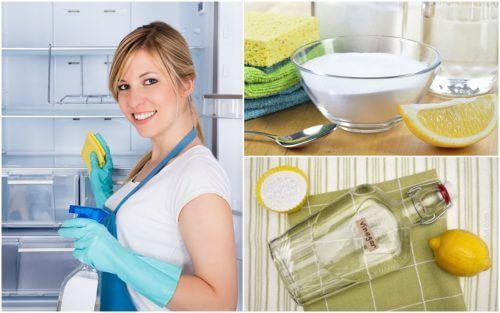 Comment nettoyer et désinfecter le réfrigérateur en utilisant 5 produits naturels
