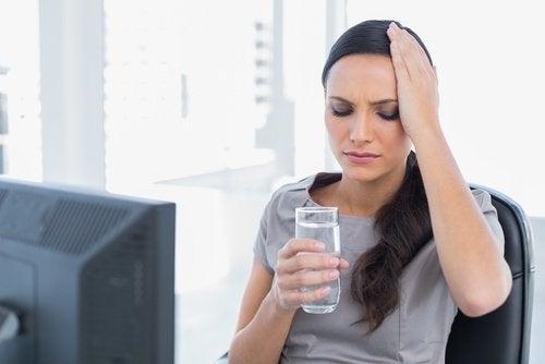 les conséquences de la déshydratation