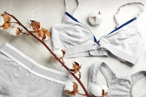 Sous-vêtements en coton.