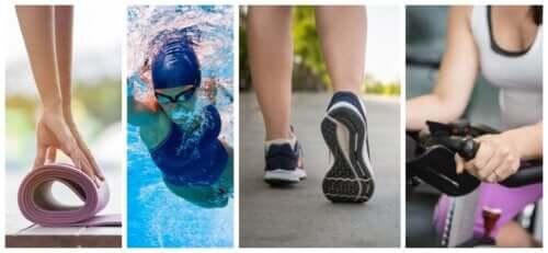 5 sports pour les personnes souffrant de douleurs aux genoux