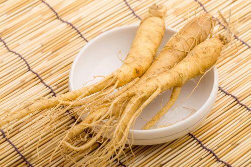 le ginseng fait partie des herbes médicinales efficaces contre la dépression