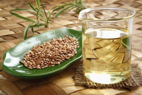 les graines de lin pour éliminer la flaccidité