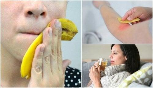 8 utilisations intéressantes des peaux de banane