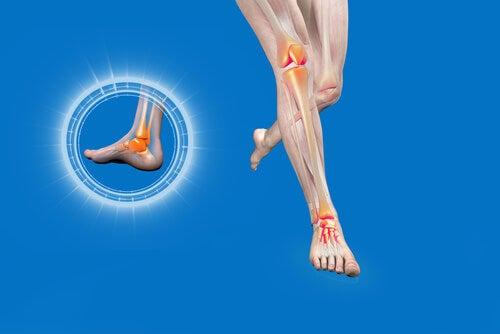 éviter l'entorse de la cheville grâce à l'entraînement proprioceptif