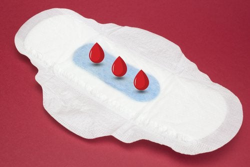 Flux trop faible, troubles menstruels.