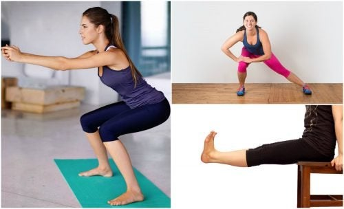 5 exercices pour les jambes sans matériel de gymnastique