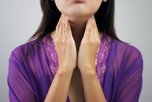 Symptômes de problèmes de thyroïde