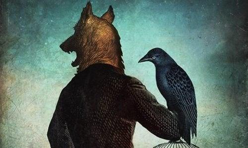 personne passive-agressive loup