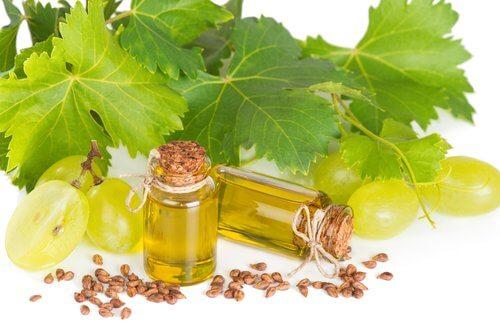 huile de pépins de raisin pour soulager les ongles cassés