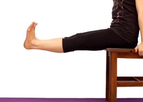 Contractions des quadriceps pour fortifier les jambes