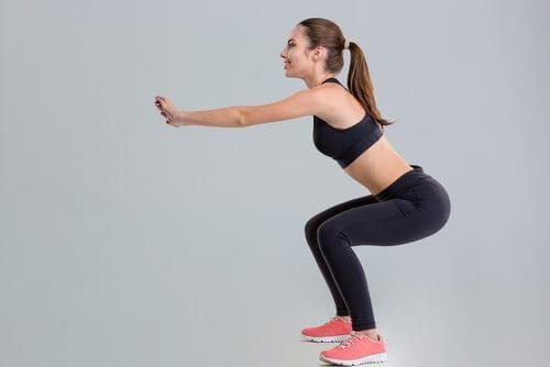 Les squats pour renforcer les muscles des jambes