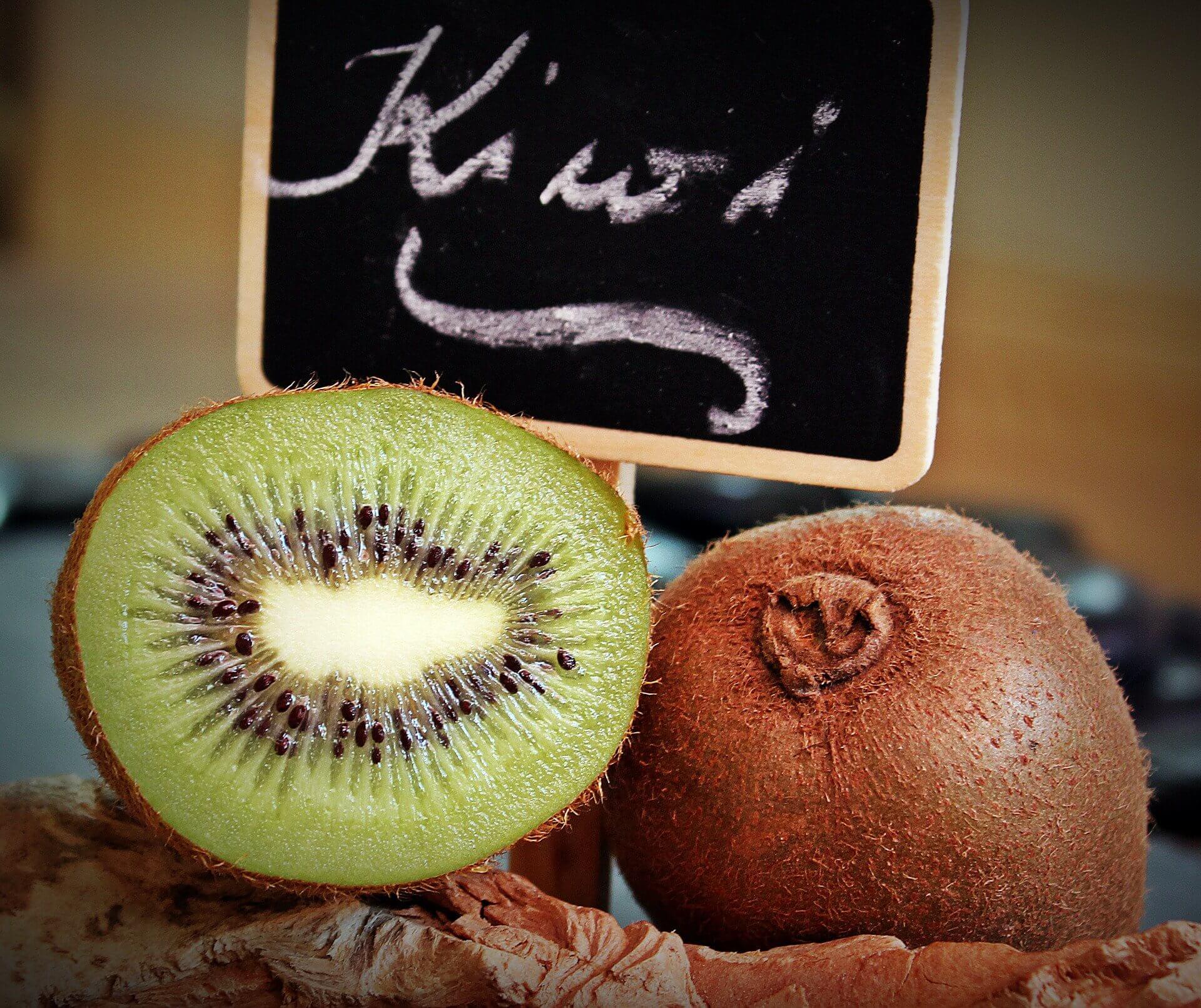 Combattre la constipation avec le kiwi.