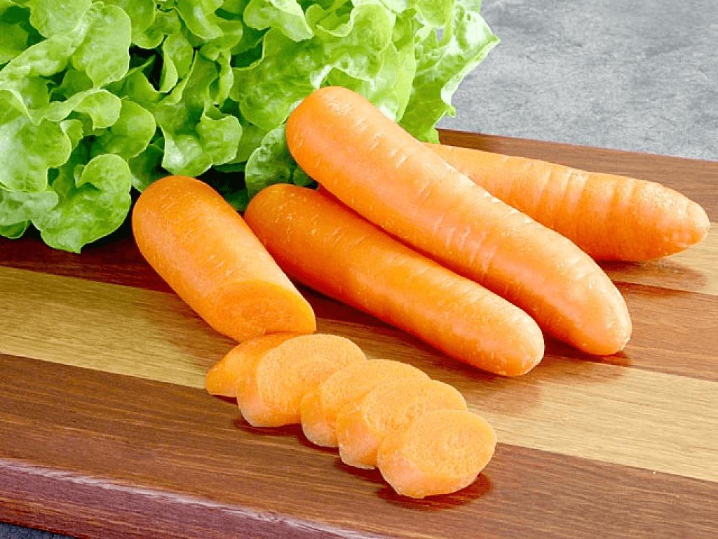 carottes pour traiter les problèmes de gastrite