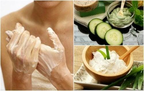 Comment atténuer les taches des mains avec 5 crèmes faites maison