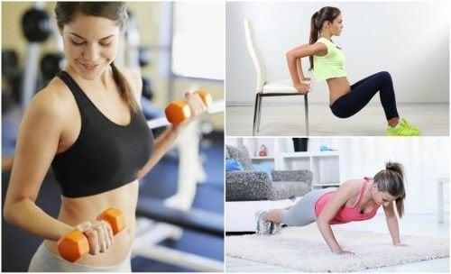 Raffermissez vos bras avec 6 exercices simples