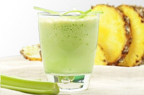 smoothie d'ananas contre les toxines