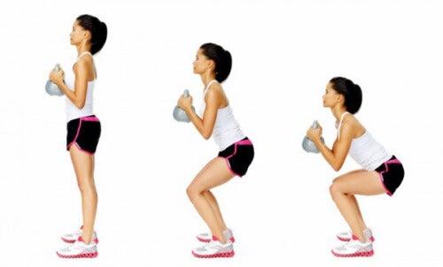 4 recommandations pour réaliser des squats correctement