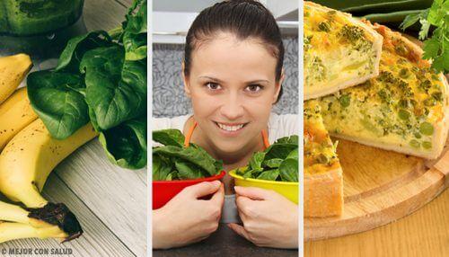 5 recettes aux épinards dans votre alimentation