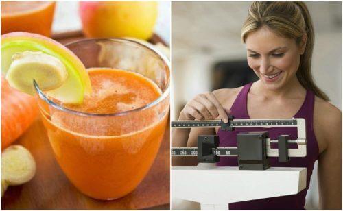 6 bienfaits du jus de carotte et de gingembre