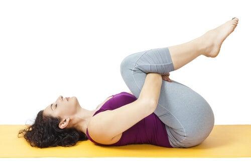 Stretching du bas du dos