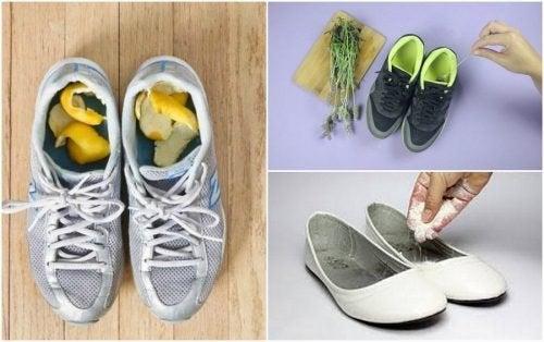 Comment éliminer les mauvaises odeurs des chaussures grâce à 5 remèdes maison